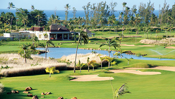 One of the best golf course in the Indian Ocean