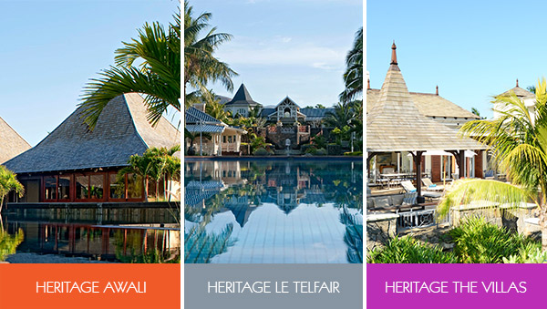 Choose your holidays in Mauritius with Heritage Resorts