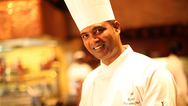 Chef Ravi Kanhye has been selected by a committee chaired by Chef Alain Ducasse