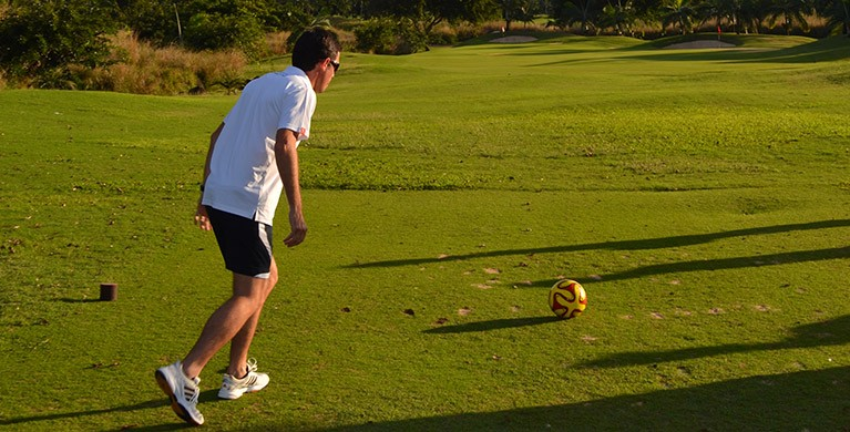 All about footgolf in Mauritius