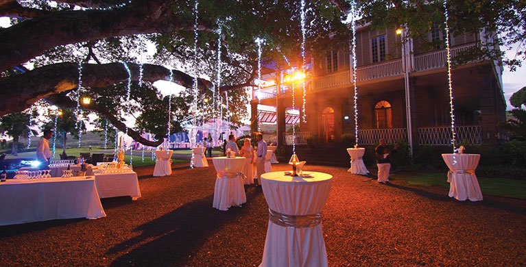 Six ultimate venues for your wedding in mauritius heritage wedding at the chteau de bel ombre junglespirit Gallery