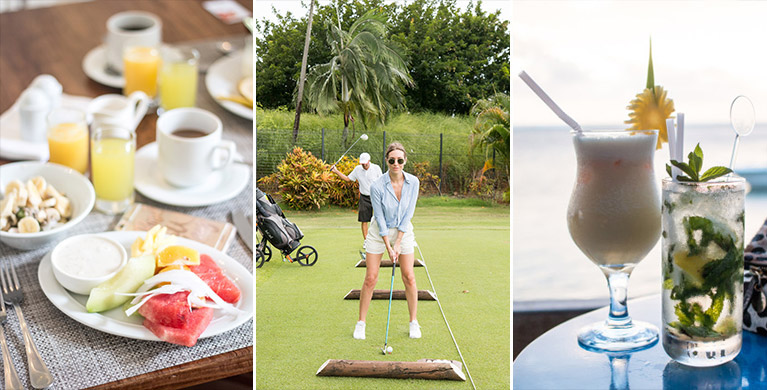 Instameet Day 2- Golf Initiation and aperitif