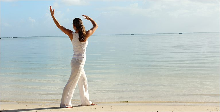 Two days of Yoga, Qi Gong and meditation at Heritage Le Telfair