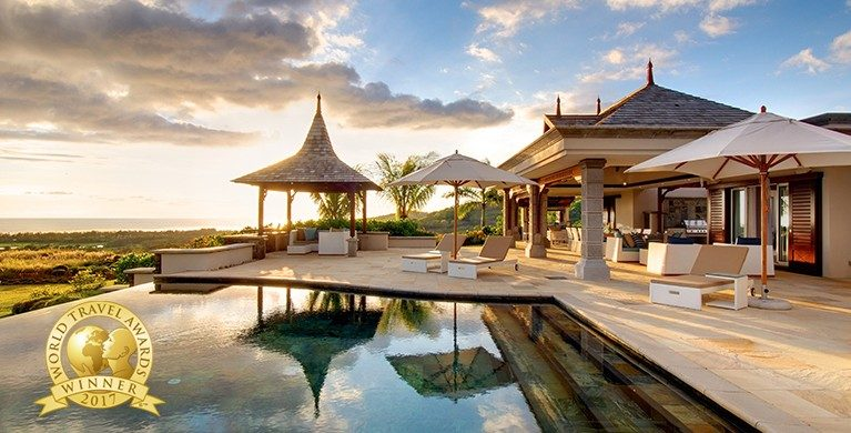 Heritage The Villas - Indian Ocean's Leading Hotel Residences 2017 and Mauritius' Leading Hotel Residences 2017