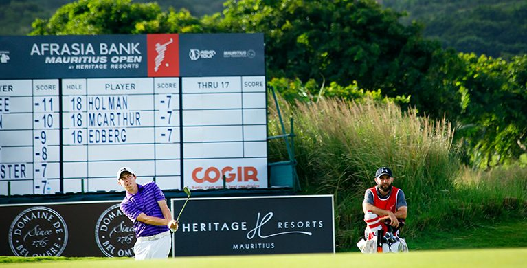 The AfrAsia Bank Mauritius Open is coming home