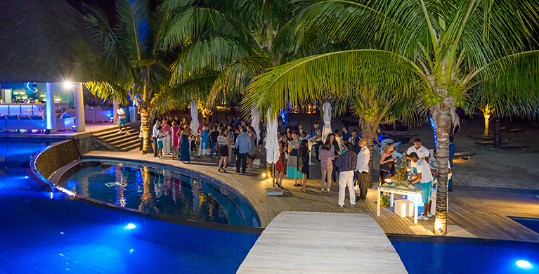 End of year celebrations at Heritage C Beach Club