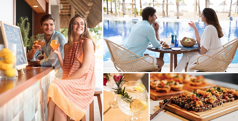 Best beach club restaurant in the south of Mauritius