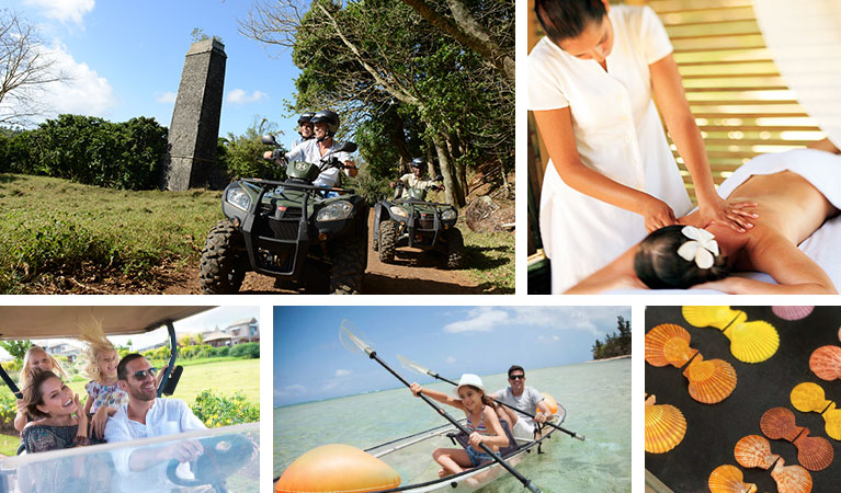 Land and sea activities in the South of Mauritius