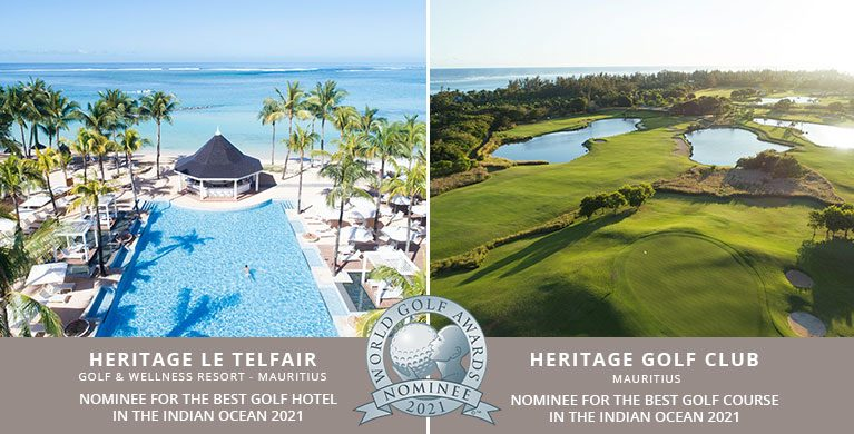 Heritage Le Telfair and Heritage Golf Club nomination at World Golf Awards 2021