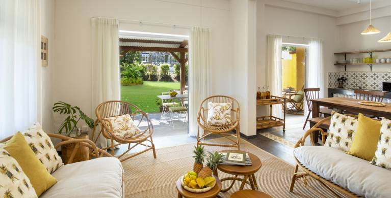 Kazalala Bed and Breakfast hosted guest house in Bel Ombre in Mauritius