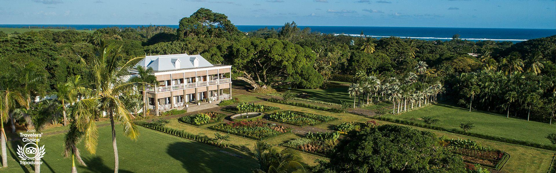 Heritage le chateau 19th century manoir south of mauritius