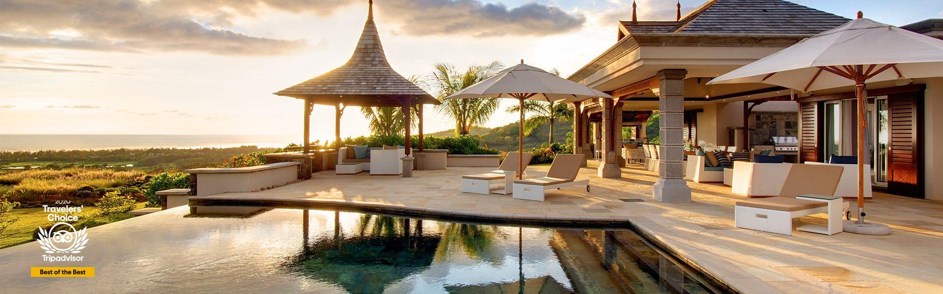 Heritage The Villas Ile MauriceTraveler's Choice Best of the Best