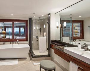 heritage awali suite bathroom