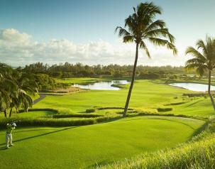 hole 9 free green fee at heritage resorts mauritius