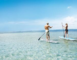 stand up paddle things to do mauriius for couples