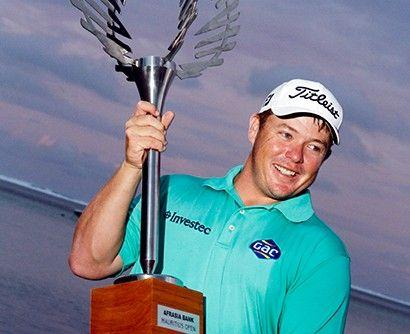 George Coetzee - winner of Afrasia Bank Mauritius Open 2015