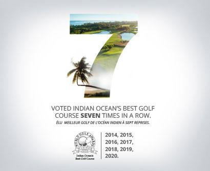 Heritage Golf Club Mauritius at the World Golf Awards 2020