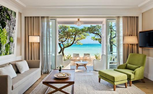Heritage Le Telfair Beach Front Suite