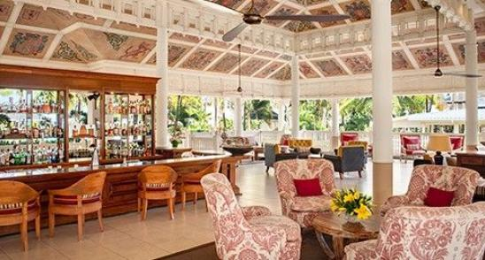 Cavendish bar at Heritage Le Telfair Resorts Mauritius