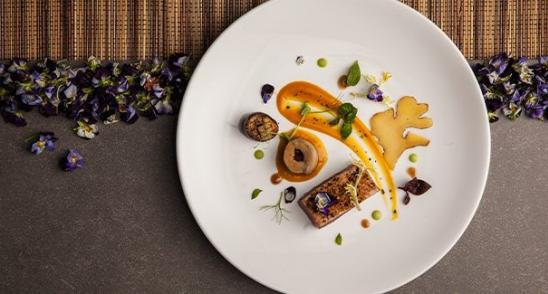 Fine dining at Heritage Le Chateau