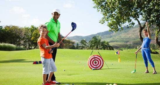 Mauritius golf activities and services