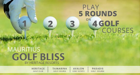 Mauritius Golf Bliss Package by Heritage Resorts