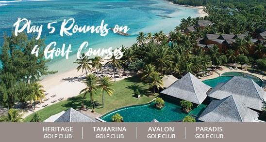 Unique golf package in Mauritius