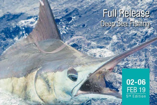 Mauritius Billfish release international fishing tournament 2019