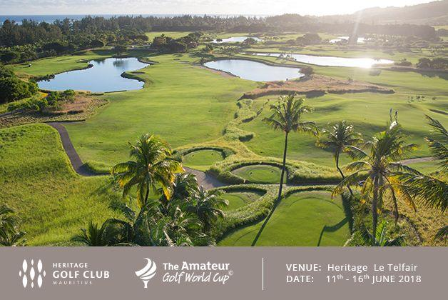 The Amateur Golf World Cup 2018 at Heritage Le Telfair Golf & Wellness Resort